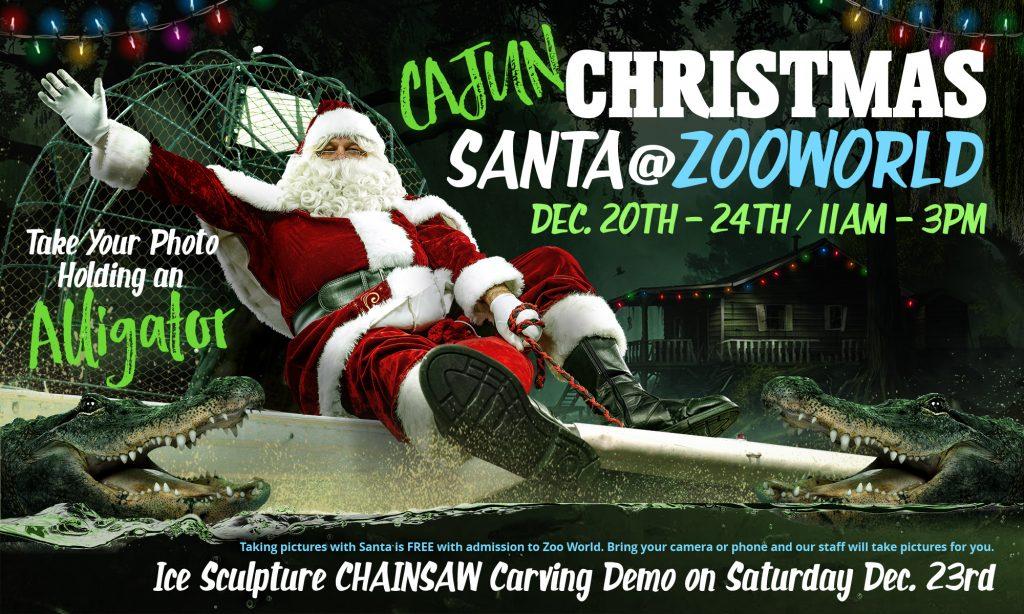 See Santa at the Zoo!!! Panama City Beach